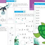 2 Times Tables Activity Worksheet Pack