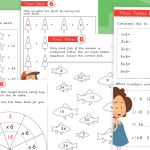 6 Times Tables Activity Worksheet Pack