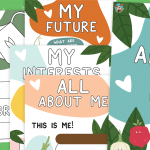 EYFS and KS1 All About Me Booklet