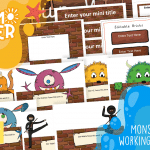 Take Back Your Summer FREE – Our Working Wall Display Pack