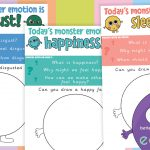 Emotion Monster Activity Journals
