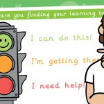Traffic Light Self Assessment Poster