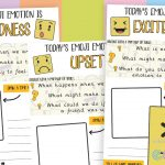 Emoji Emotions Activity Journals