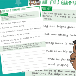 Grammar Guru Challenge Identifying Nouns In Sentences