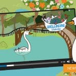 "Wellbeing Wednesday Autumn Week 2 – ""Sienna the Serene Swan"" Animation"