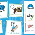 Key Stage One KS1 Visual Timetable Cards