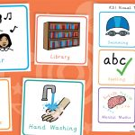 Key Stage Two KS2 Visual Timetable Cards