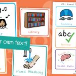 Editable Key Stage Two KS2 Visual Timetable Cards