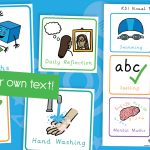 Editable Key Stage One KS1 Visual Timetable Cards