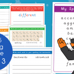 Year 5 Week 3 Spelling Practice Pack