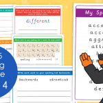 Year 5 Week 4 Spelling Practice Pack