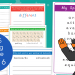 Year 5 Week 6 Spelling Practice Pack