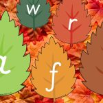 Autumn Alphabet Leaves