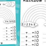 Rainbow Number Bonds Making 10