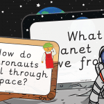 Space Themed Inquiry Questions EYFS