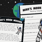 Mikes Moon Mission Story And Comprehension