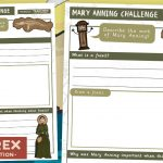 Mary Anning Fossil Challenge