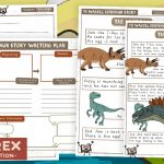 Dinosaur Story Writing Pack