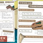 Year 2 Dinosaur Comprehension with Questions