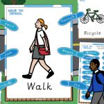 Walk to School KS2 Self Registration Pack