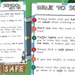 Walk to School Safety Poster