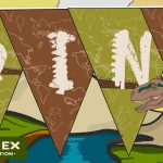 Dinosaurs Display Bunting