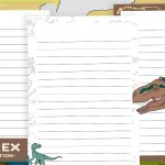 Dinosaur Writing Frames