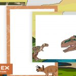 Dinosaur Drawing Frames