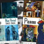 Pablo Picasso Periods Poster pack