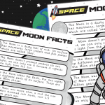 Moon facts Poster