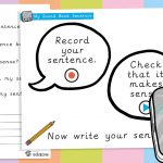 Talking Mirror Sound Bank Sentence Writing Prompts