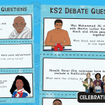 Black History Debate Question Cards