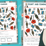 Edith Cavell Count and Compare