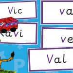 Phase 3 v Word Flash Cards