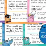 Comprehension Cubes Question Challenge Cards