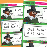 Guy Fawkes Display Speech Bubbles