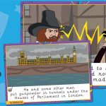 Large Gunpowder Plot Story Cards