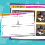 Guy Fawkes Story Sequencing Activity