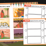 Diwali Story Sequencing Cards Activity
