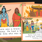 Large Diwali Story Cards