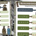Remembrance Anagrams