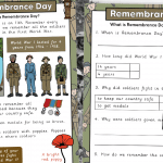 Remembrance Day KS1 Comprehension With Questions