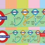 Writing Station – London Underground Banner