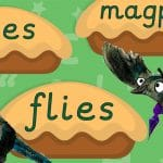 Phase 5 ie Words Magpie Pies Display