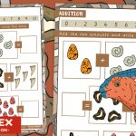 Dinosaur Addition – How Many All Together?