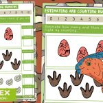 Dinosaur Maths – Estimating and Counting