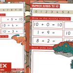 Dinosaur Maths – Number Bonds to 10