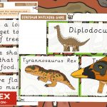 Dinosaur Reading – Match Sentences and Pictures