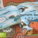 Dinosaur Disaster Story Flip Book
