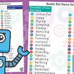 Buddy Bots Name Generator